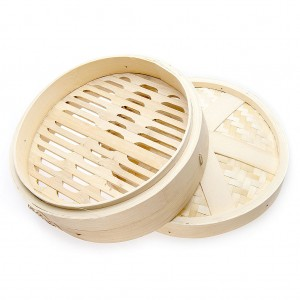 Bamboo Steamer with Cover