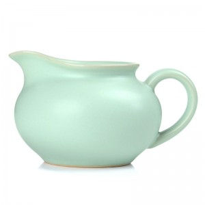 Ru Kiln Serving Pitcher-The Queen-Sky Cyan