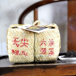 HuNan AnHua LiuDong LianXi Loose-leaf Dark Tea-TianJian-Top Tips-1000g/basket