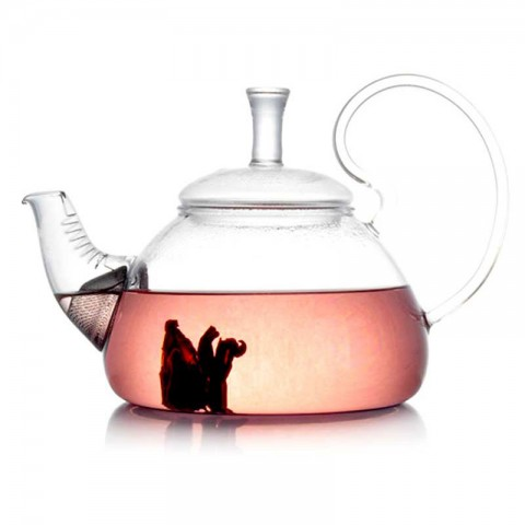 Glass Tea Pot-Proud-800ml(For Induction Cooker)