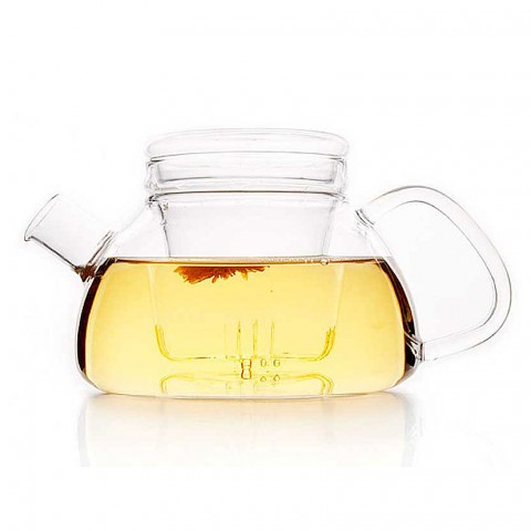 Glass Tea Pot with Strainer-Ramble-800ml(For Induction Cooker)