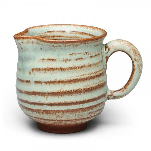 Jun Kiln Pottery Serving Pitcher-Morning Farm