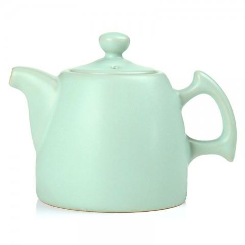 Ru Kiln Tea Pot-Clever Hands-Sky Cyan