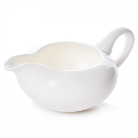 White Porcelain Serving Pitcher-Water Fairy