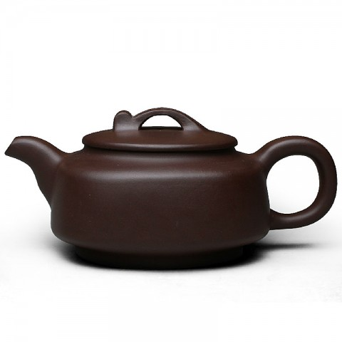 Zi Sha-Purple Clay Tea Pot-460ML-Rounded Edges
