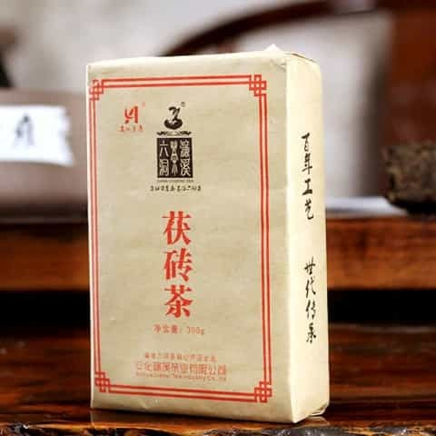 HuNan AnHua LiuDong LianXi-Golden Flower Fu-Brick Dark Tea-300g