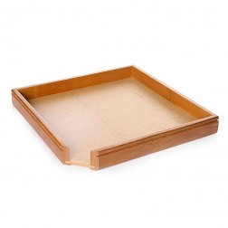 Bamboo Pu-erh Tea Cake Holder&Splitting Tray-2 in 1