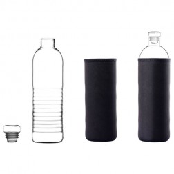 Clear Glass Bottle-Acacia-Small