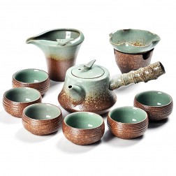 Ge Kiln Side-pot Set-Flaming Cloud-10 Items/Set