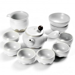 Ru Kiln Side-pot Set-Flowing Moonlight-10 items/set