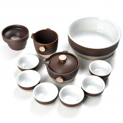 Yun Kiln Tea Set-Unearthed Miracle-Murrey-11 Items/Set