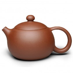 Zi Sha-Di Cao Qing Purple Clay Tea Pot-350ML-The Eternal Beauty-F