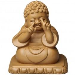 Zi Sha-Duan(Tuan) Clay Teaboard Decor-Crafts-Smiling Buddha
