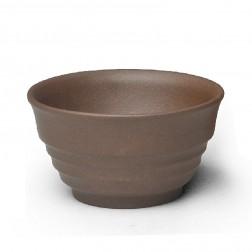Zi Sha-Purple Clay Tea Cup-Stripes