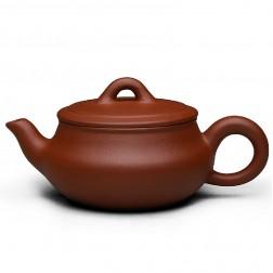 Zi Sha-Qing Shui(Pure) Clay Tea Pot-180ML-Han Plate