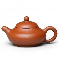 Zi Sha-Red Clay Tea Pot-140ML-Curvaceous
