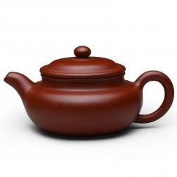 Zi Sha-Red Clay Tea Pot-150ML-Antique-F-Nonpareil Big Red Robe