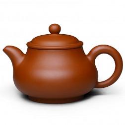 Zi Sha-Red Clay Tea Pot-150ML-Pan Pot-A