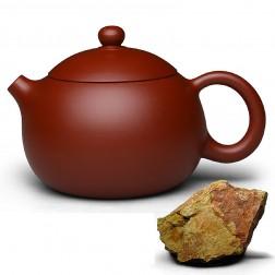 Zi Sha-Red Clay Tea Pot-180ML-The Eternal Beauty-D-Nonpareil Big Red Robe