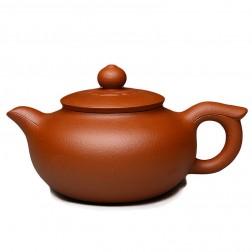Zi Sha-Red Clay Tea Pot-280ML-Silence Blooming