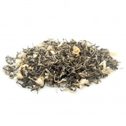 Bi Tan Piao Xue(Snowflake over Jade Pond)-Jasmine Flower Tea-#1-Nonpareil-Guangxi Area