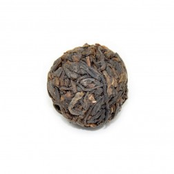 Bu Lang Mountain Ancient Tea Tree-Handmade Pu-erh Tea Ball-Cooked/Ripe