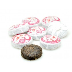 10 Years Aged Ripe/Cooked Pu-erh Mini Bing-Tea Cake-Nv Er Xiang