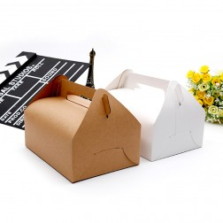 Portable Folding Cake Card Box-Various Sizes and Colours Available