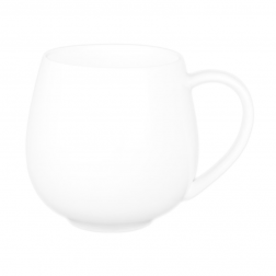 Customizable White Porcelain Mug-B