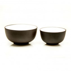 2pcs Zi Sha-Purple Clay Tea Cups per Set-Moon Pool-65ml+35ml