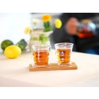 Double-wall Glass Cup Set