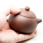 Chao Zhou Zhu Ni(Red Clay) Tea Pot-Unglazed-The Eternal Beauty-Two Size Available