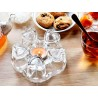Glass Teapot Warmer-Candle Holder-Love