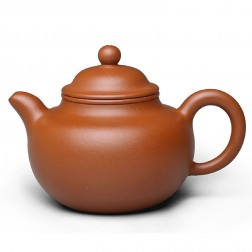 Zi Sha-Red Clay Tea Pot-200ML-Knob-A