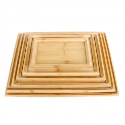 Bamboo Tea Tray-Plate-7 Sizes Available
