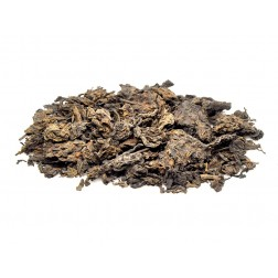 6 Years Aged Meng Hai Lao Cha Tou-Aged Loose Tea Knot-Raw/Uncooked