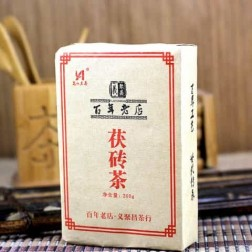 HuNan-AnHua-Yi Ju Chang-Golden-Flower-Fu-Brick-Dark-Tea-300g