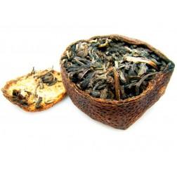 Ju Pu-Tangerine Pu-erh 8691-Chrysanthemum Flavor-Raw/Unccoked
