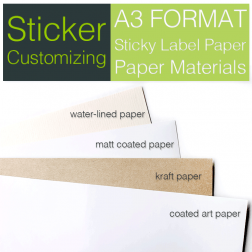 Sticky Label Customizing-A3