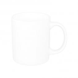 Customizable White Porcelain Mug-A