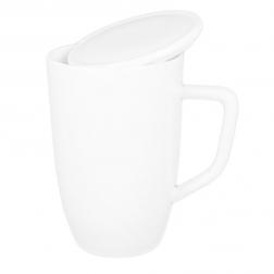 Customizable White Porcelain Mug-E
