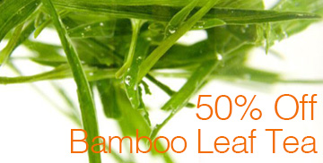 bamboo leaf tea promo